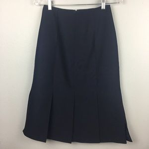 BNWT J. CREW MERMAID PLEAT LONG SKIRT SIZE 0